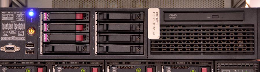 Titelbild Server und Virtualisierung